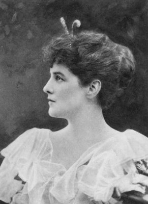 Miss Jennie Jerome, later Lady Randolph Churchill, 1921 Fine Art Print by English Photographer