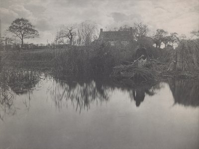 Quanting the Gladdon, 1887 Wall Art & Canvas Prints by Peter Henry Emerson