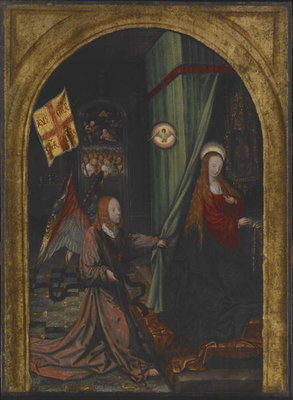 Annunciation, c.1508 Fine Art Print by Jacob Cornelisz van Oostsanen
