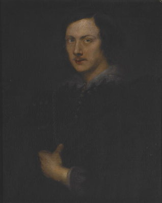 Portrait of a Genoese Nobleman Fine Art Print by Sir Anthony van Dyck
