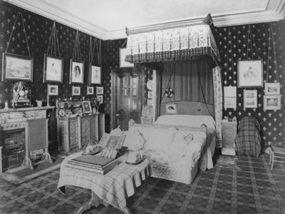 The Queen's Bedroom, Balmoral Castle Fine Art Print by English Photographer