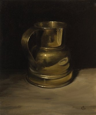 Brass Pot Fine Art Print by James Gillick