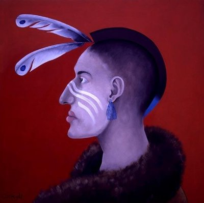 Native Americans Series, No. 2, 1998 Fine Art Print by John Wright