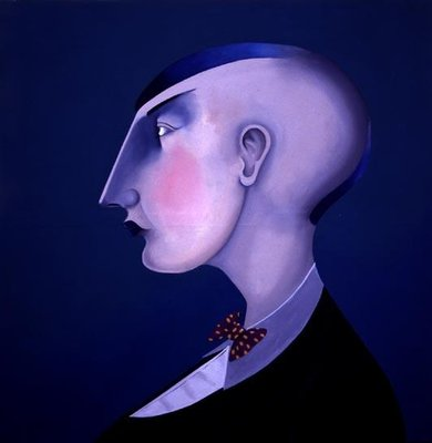 Women in Profile Series, No. 4, 1998 Fine Art Print by John Wright