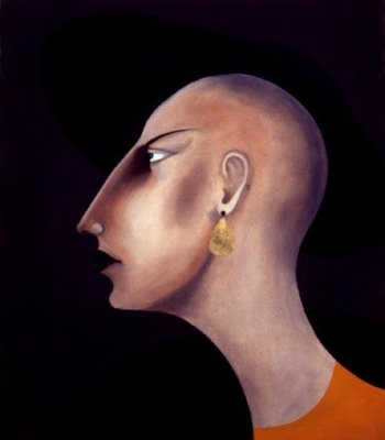Women in Profile Series, No. 12, 1998 Fine Art Print by John Wright