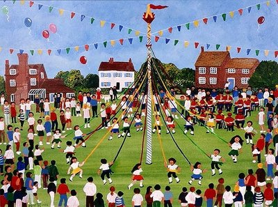 Maypole Postcards, Greetings Cards, Art Prints, Canvas, Framed Pictures & Wall Art by Judy Joel