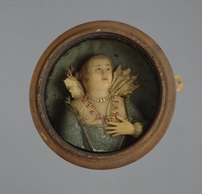Miniature Portrait, c.1600 Fine Art Print by German School