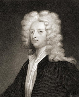 Joseph Addison (1672-1719), from 'Gallery of Portraits', published 1833 (engraving) Wall Art & Canvas Prints by English School