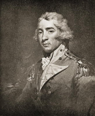 Thomas Graham (1748-1843) Lord Lynedoch (litho) Wall Art & Canvas Prints by John Hoppner