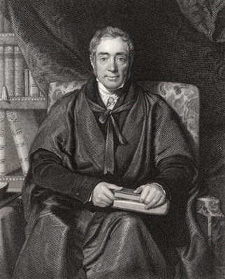 Rev. Samuel Lee, engraved by William Thomas Fry (1789-1843) from 'National Portrait Gallery, volume V', published c.1835 (litho) Fine Art Print by Richard Evans