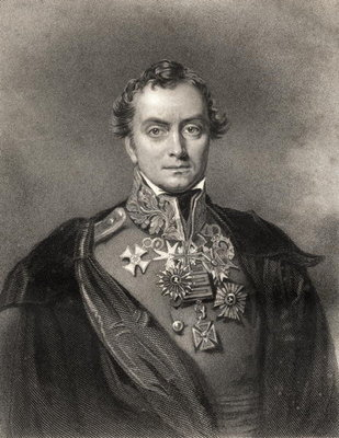 Henry Hardinge, engraved by F. Holl, from 'The National Portrait Gallery, Volume III', published c.1820 (litho) Postcards, Greetings Cards, Art Prints, Canvas, Framed Pictures, T-shirts & Wall Art by Eden Upton Eddis