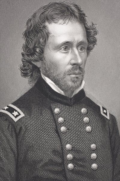 John Charles Fremont, from 'Gallery of Historical Portraits', published c.1880 Fine Art Print by English School