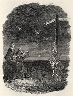 The Dead Drummer, from 'The Ingoldsby Legends' by Thomas Ingoldsby, published by Richard Bentley & Son, 1887 Fine Art Print by George Cruikshank