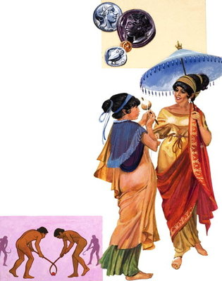 Athenian Lady, 1981 Fine Art Print by Andrew Howat