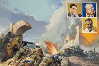 The Spanish Civil War Postcards, Greetings Cards, Art Prints, Canvas, Framed Pictures, T-shirts & Wall Art by Severino Baraldi