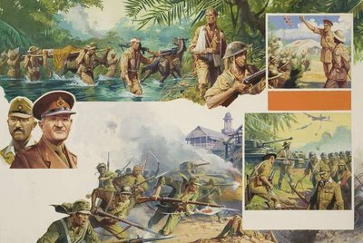 Jungle Warfare Fine Art Print by Severino Baraldi