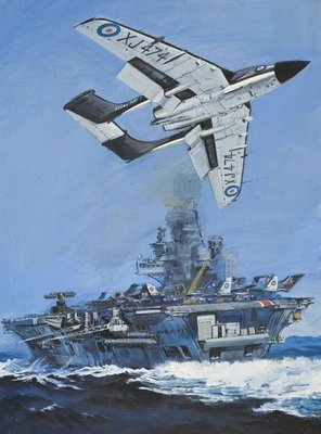 The DH 110 Poster Art Print by John S. Smith