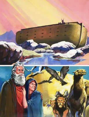 Noah's Ark Fine Art Print by English School