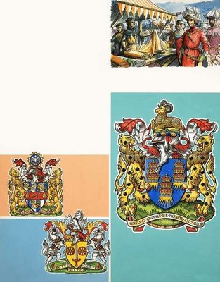 The Guilds of London: The Worshipful Company of Drapers Fine Art Print by Dan Escott