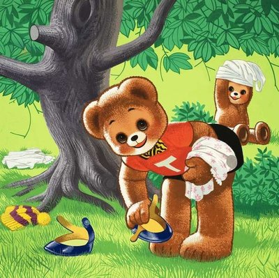Teddy Bear Fine Art Print by William Francis Phillipps