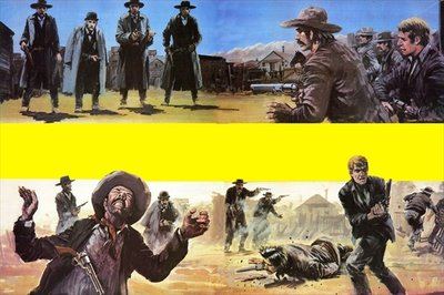 Showdown at Tombstone Fine Art Print by Graham Coton