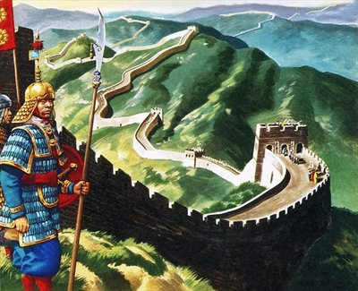 The Great Wall of China Fine Art Print by Ron Embleton