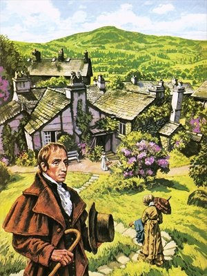 William Wordsworth at Dove Cottage Fine Art Print by Harry Green