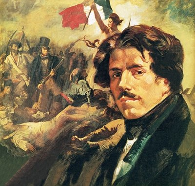 Eugene Delacroix Fine Art Print by English School