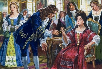 The Duke of Marlborough finally returns his wife's golden keys Fine Art Print by Clive Uptton