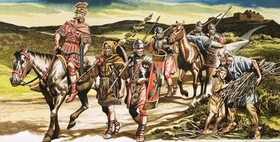 Roman soldiers Postcards, Greetings Cards, Art Prints, Canvas, Framed Pictures, T-shirts & Wall Art by Ron Embleton