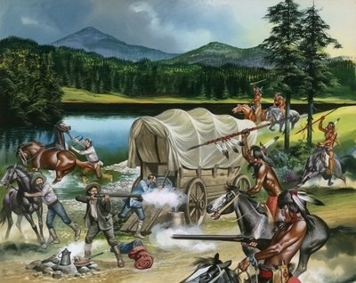 When the Red Man Rode: The Nez Perce Postcards, Greetings Cards, Art Prints, Canvas, Framed Pictures, T-shirts & Wall Art by Ron Embleton