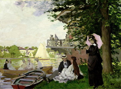 Garden House on the Zaan, Zaandam, 1871 Poster Art Print by Claude Monet