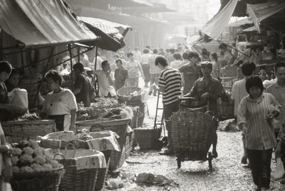 Market Fine Art Print by Anonymous