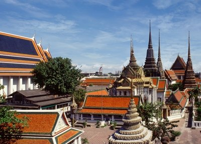 Wat Pho Wall Art & Canvas Prints by Anonymous