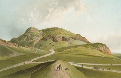 Arthur's Seat from St Leonards Fine Art Print by English School