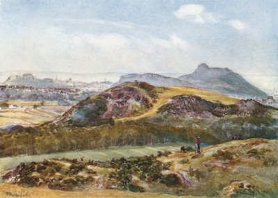 Arthur's Seat from the Braid Hills Fine Art Print by John Fulleylove