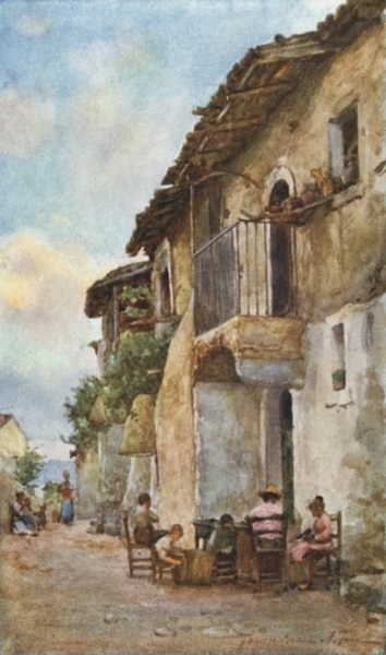 Old Houses, Taormina Postcards, Greetings Cards, Art Prints, Canvas, Framed Pictures, T-shirts & Wall Art by Alberto Pisa