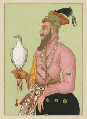 India Costume Fine Art Print by French School