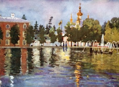 The Tsar's Church, Peterhof Wall Art & Canvas Prints by Mima Nixon