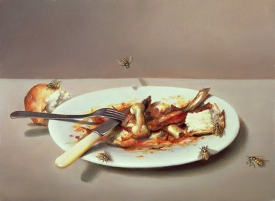 Pollo alla Diavolo, 1982 Fine Art Print by Lincoln Taber