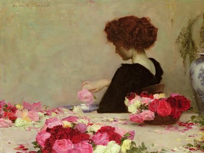 Pot Pourri, 1897 Wall Art & Canvas Prints by Herbert James Draper