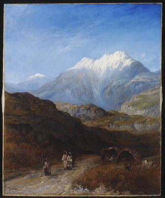 The Snow Capped Atlas Mountains of the Grand Kabylie, Algeria Fine Art Print by Paul H. Ellis