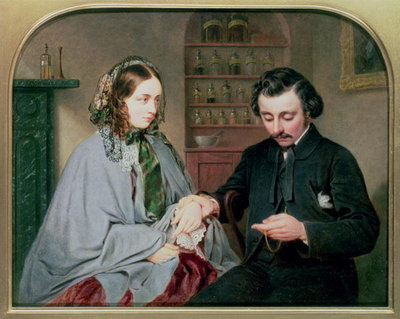 The Doctor, c.1860 Fine Art Print by Arthur Miles