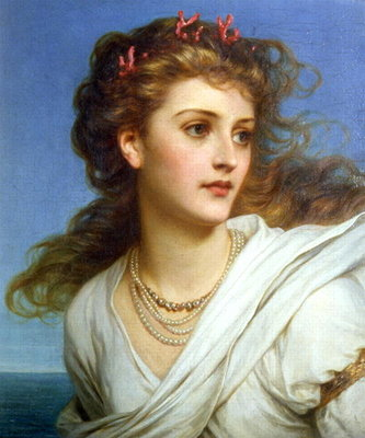 Miranda, 1878 Fine Art Print by Sir Frank Dicksee