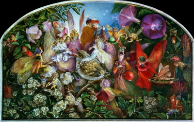The Fledgling Wall Art & Canvas Prints by John Anster Fitzgerald
