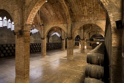 Wine cellar Fine Art Print by Anonymous