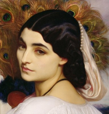 Pavonia, 1859 Wall Art & Canvas Prints by Frederic Leighton