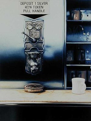The Last Automat I, 1983 Fine Art Print by Max Ferguson
