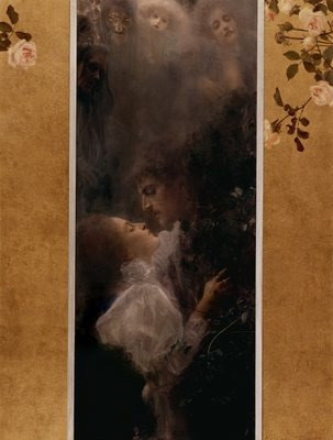Love, 1895 Wall Art & Canvas Prints by Gustav Klimt