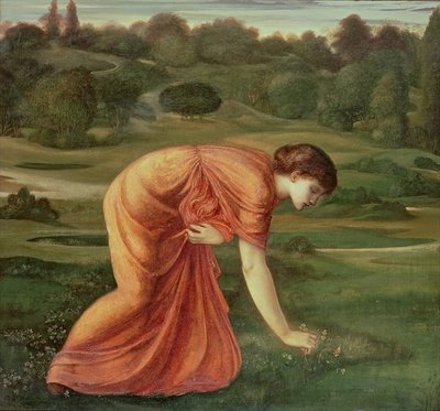 The March Marigold, c.1870 Fine Art Print by Sir Edward Burne-Jones